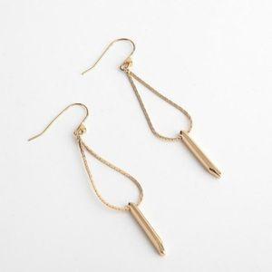 Stella & Dot - Rebel Drop Earrings - Gold